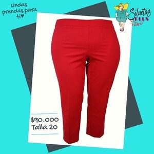 Pantalones tallas grandes en @siluetas_plus  #pantalonescolombianos #pantalonesmujer #pantalones #modacolombiana #ropaparagorditas