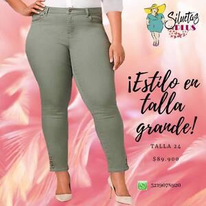 Lindos #jeans #tallasgrandes #ropaparagorditas #plussizefashion