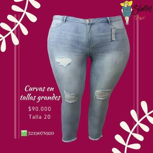 Hermosos jeans en @siluetas_plus  #jeanscolombianos #jeanstallasgrandes #jeansparamujer #jeansparagorditas #tallasgrandescolombia #ropaparagorditas