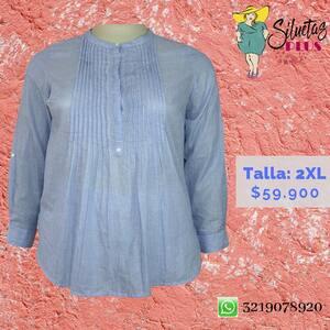 Blusas preciosas en @siluetas_plus 💕 #tallasgrandes #ropaparagorditas #blusadama #modacolombiana